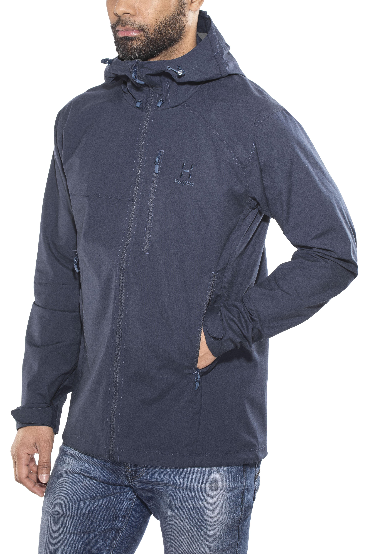 brand new 17477 8795a Haglöfs Trail Giacca Uomo blu
